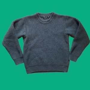 BLK DNM Johan Lindeberg Sweater 9 100% wool green